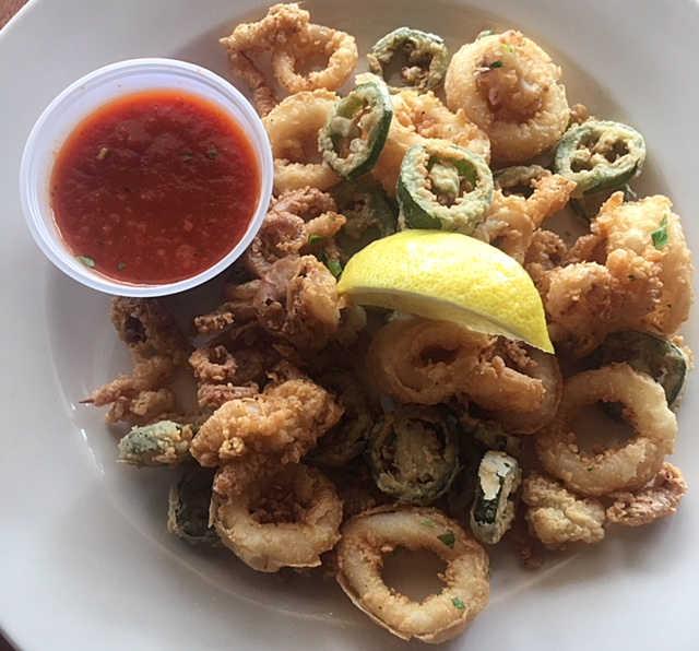 Crispy Calamari | Real Time Sports Bar and Grill