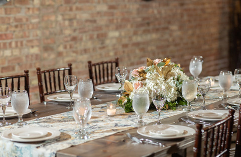 Biagio Loft Table Setting