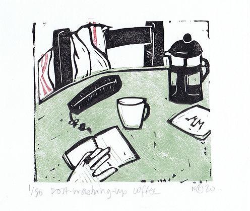 Post Washing-Up Coffee