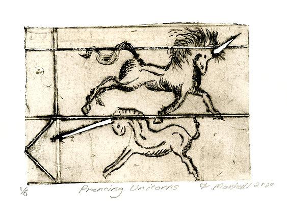 Prancing Unicorns