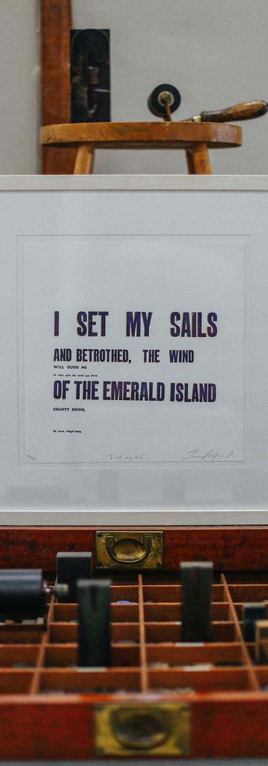 I Set My Sails By Jenna Kirkwood