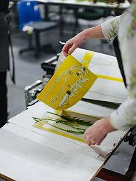 Mindfulness & Mono printing with Plants