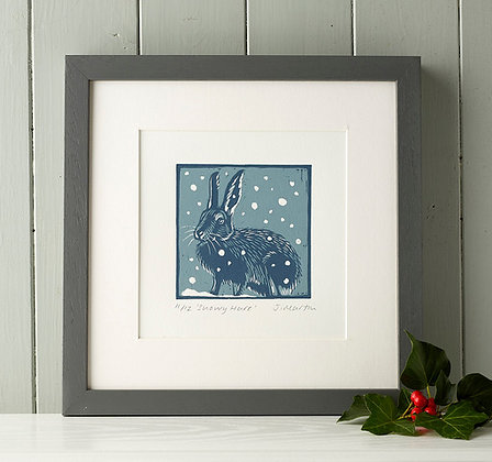 Snowy Hare