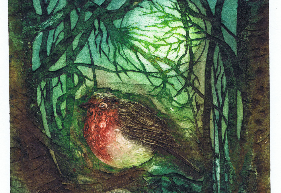The Robin and the Moon By Alice Wyatt .j