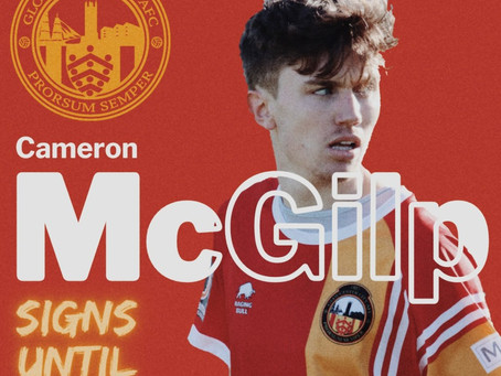 McGilp signs on for City