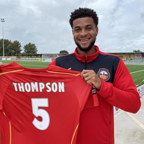 Thompson signs