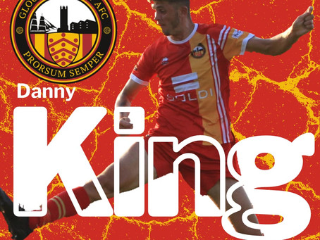 Welcome Back, Danny King!