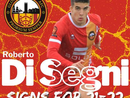Di Segni Signs for 2021/22