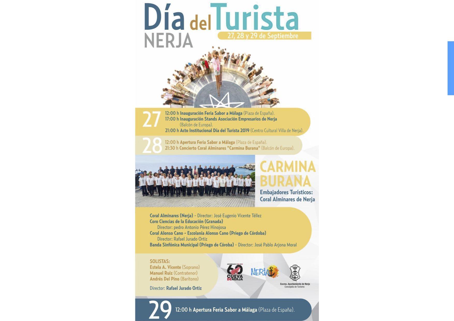 Cartel Dia del Turista 2019