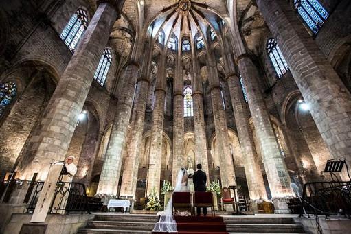 Kostol Barcelona
