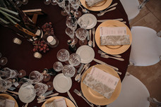 Beautiful table set up