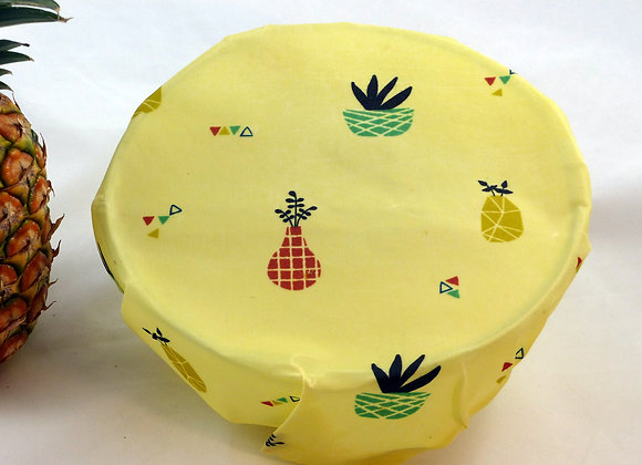 Bee wrap fruits origamis grand format