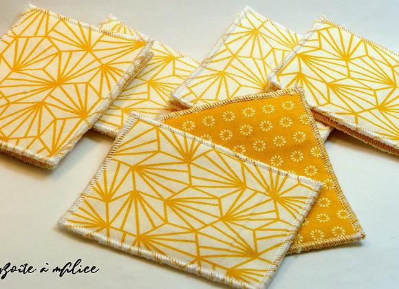 Lingettes jaunes