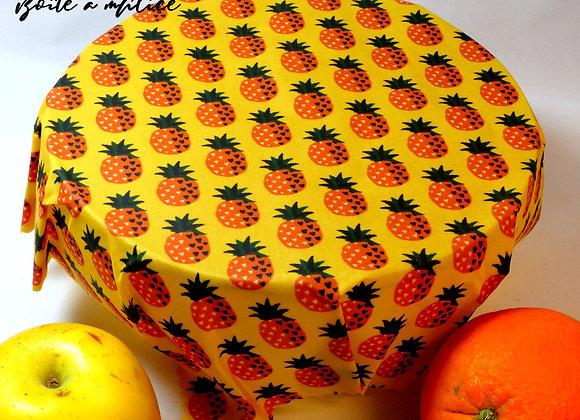 Bee wrap ananas format moyen