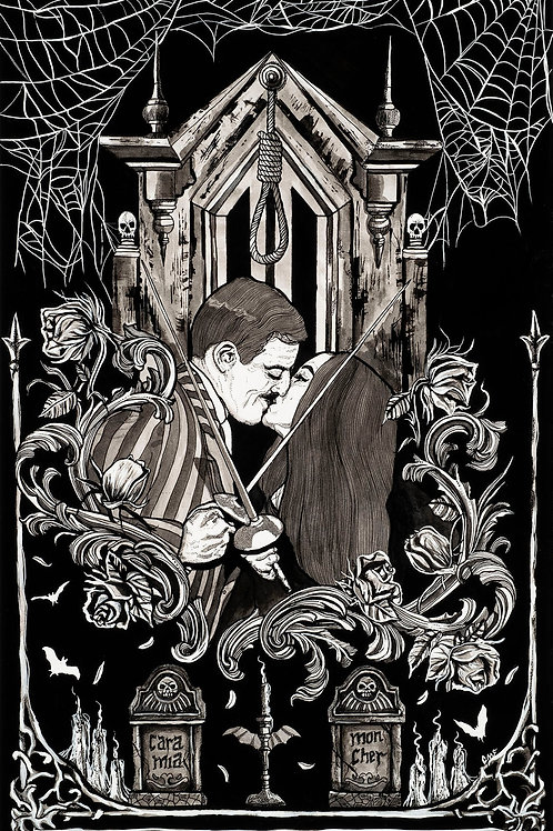 Addams Family - Art Print