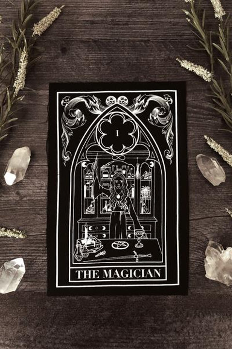 "The Pretty Cult ""The Magician"" Tarot Card Back Patch"