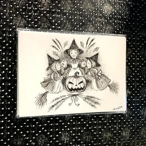 A Little Coven (5x7 print)