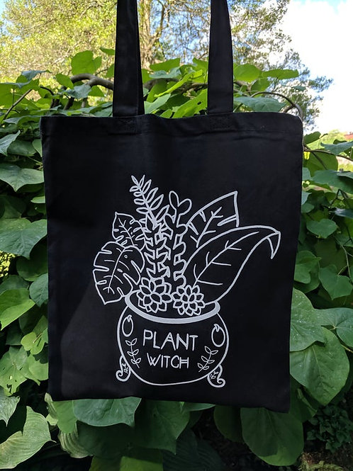 Plant Witch Tote