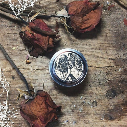 Cottage Witch Botanicals - Wonderland Travel Tin Candle