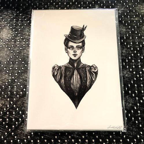 Mina (5x7 print)