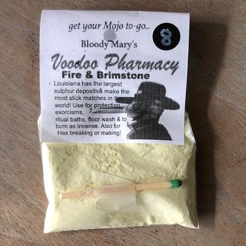 Fire & Brimstone Powder