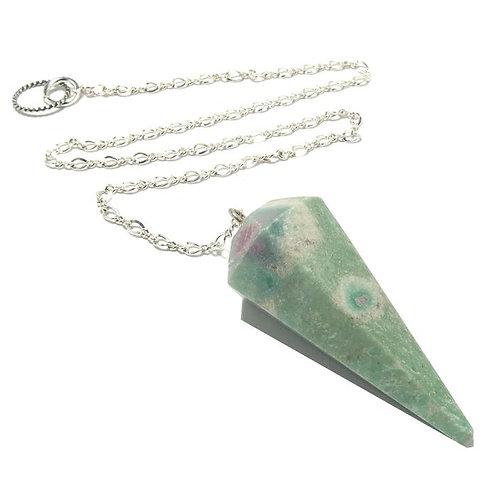 Ruby Fuschite Pendulum