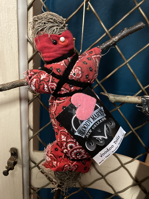 Bloody Mary NOLA Authentic Voodoo Doll