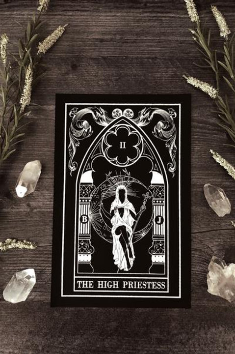 "The Pretty Cult ""High Priestess"" Tarot Card Back Patch"