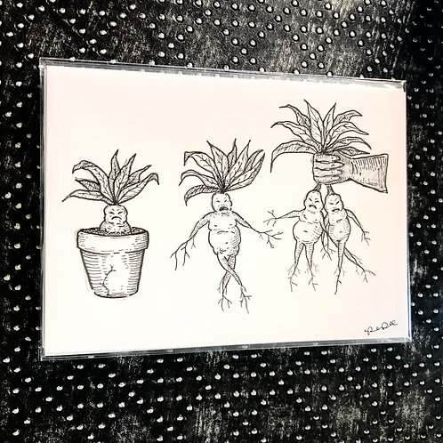 Herbology Class (5x7 print)