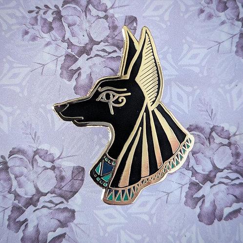 Anubis Enamel Pin