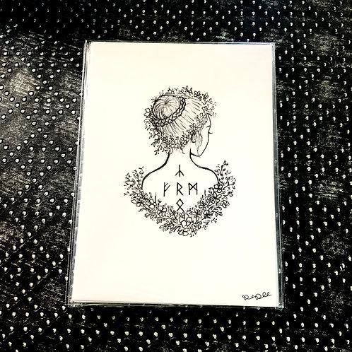 May Queen (5x7 print)