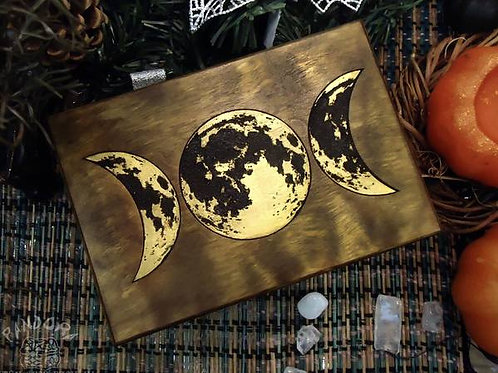 Golden Moon Box