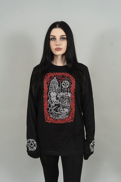 The Pretty Cult Yule Witch Long Sleeve Tee