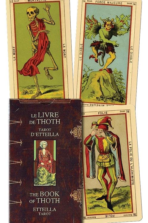 Book of Thoth - Etteilla Tarot