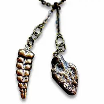 Moon Raven Designs - Snake Lariat Necklace - Primal Elegance