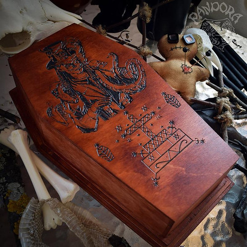 Box Coffin - Veve Baron Samedi