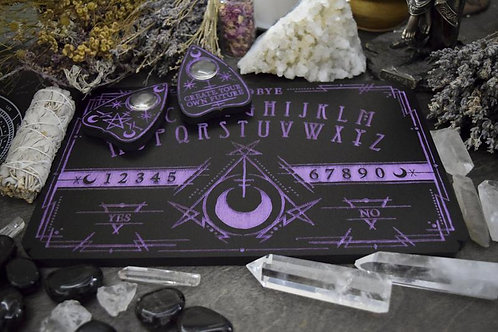 Witchcraft Cult Violet Ouija Board