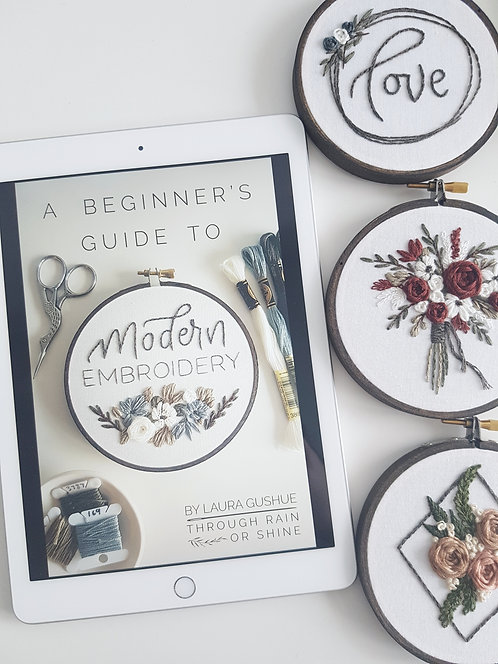 ULTIMATE KIT DIGITAL - A Beginner's Guide to Modern Embroidery
