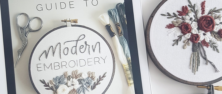 DIGITAL - A Beginner's Guide to Modern Embroidery