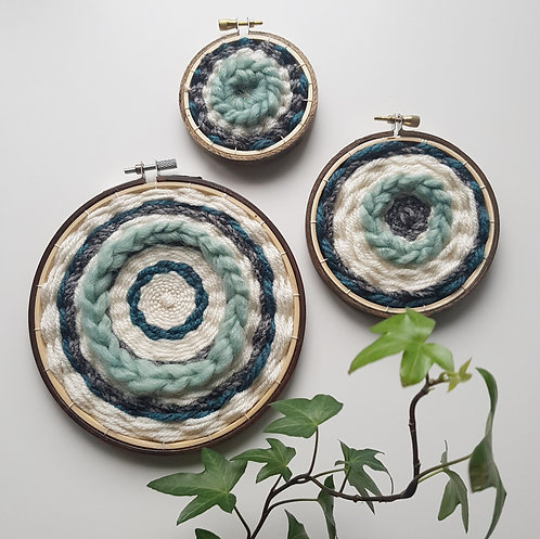 serenity collection // hoop art // READY-TO-SHIP