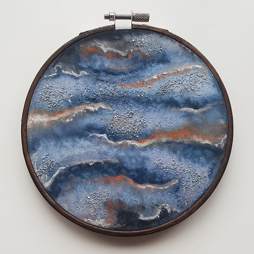 otherworldly // hoop art // READY-TO-SHIP
