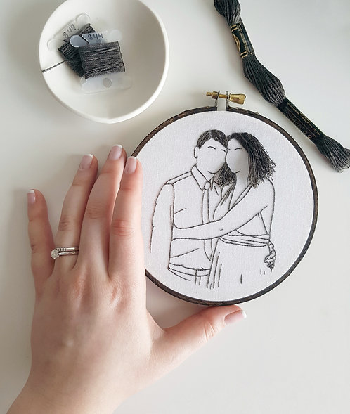 PORTRAIT CUSTOM EMBROIDERY
