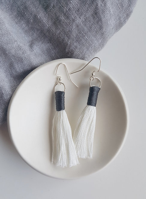 EMILY earrings - grey