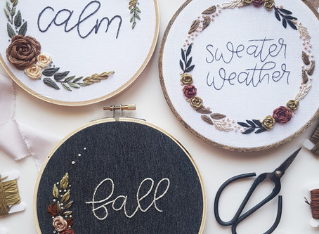 Welcome to the Create Calm Embroidery Video Series!