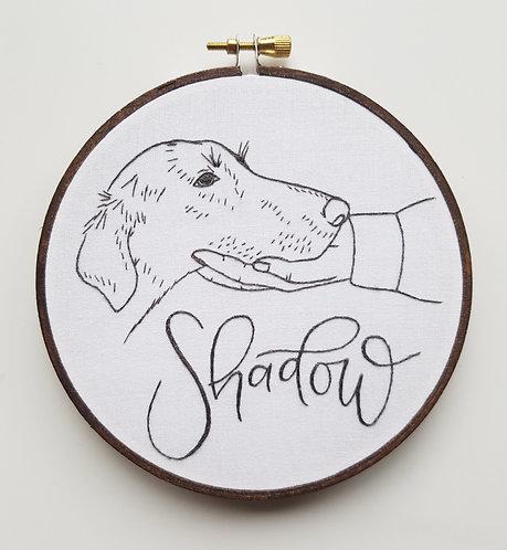 line art // pet portrait // custom order