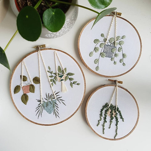 hanging plants // pattern pack