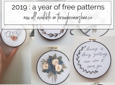 2019: A Year of Free Patterns