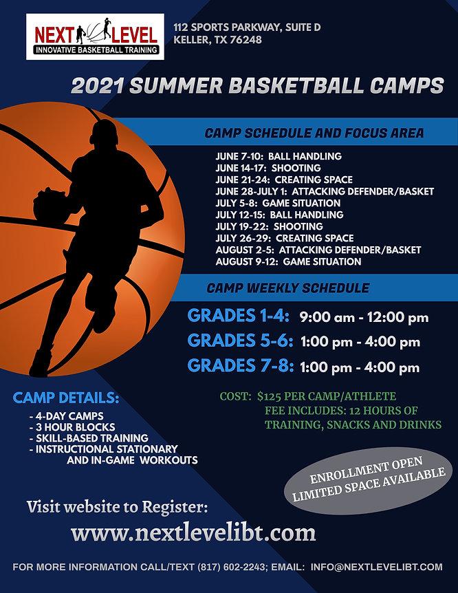 Next Level IBT 2021 Summer Basketball Ca