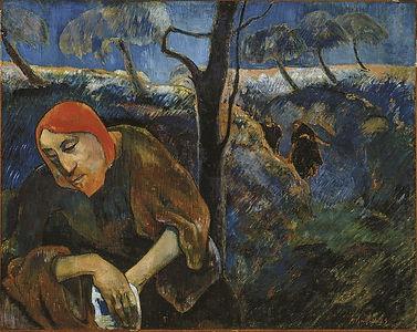 Paul Gauguin - The Agony in the Garden.j