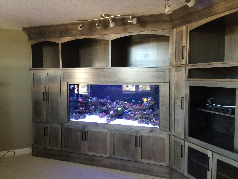 custom fish tank cabinet 1